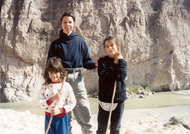 6 years old, I'm actually doing MY OWN hiking. See the hiking stick? PROOF.