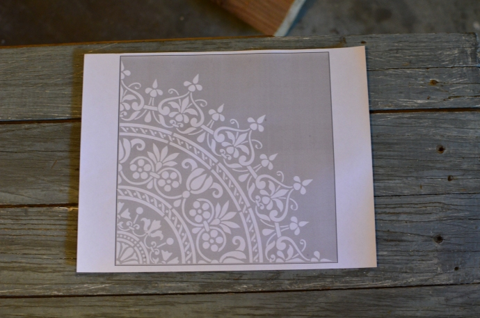 The stencil