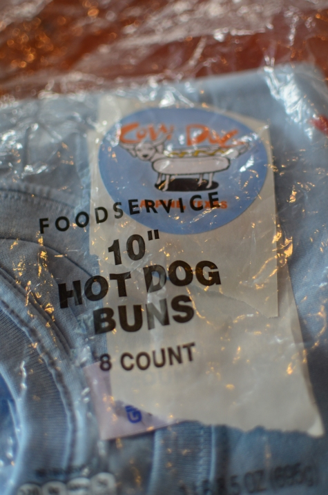 T-Shirt in a hot dog bun bag