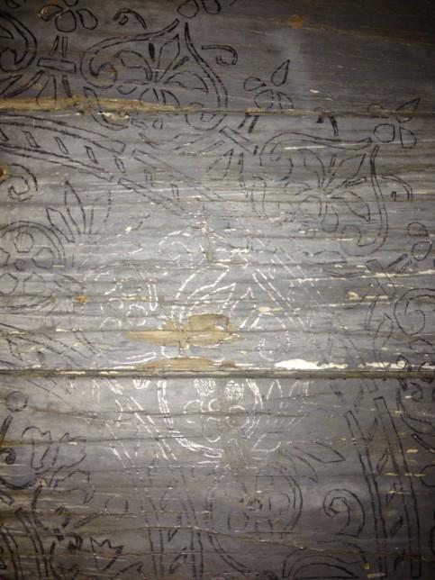 Penciled Stencil