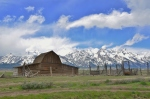 The famous Mormon barn