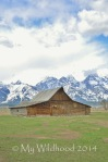 The other (less famous) Mormon barn