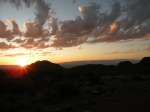 Another sunset from Pine Canyon. Every night was had a beautiful sunset.