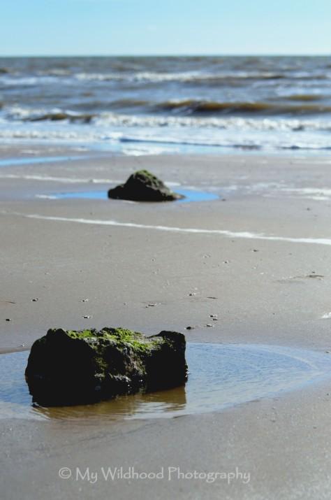Rocks on the Sand