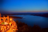 See the sunset over Lake Travis from The Oasis