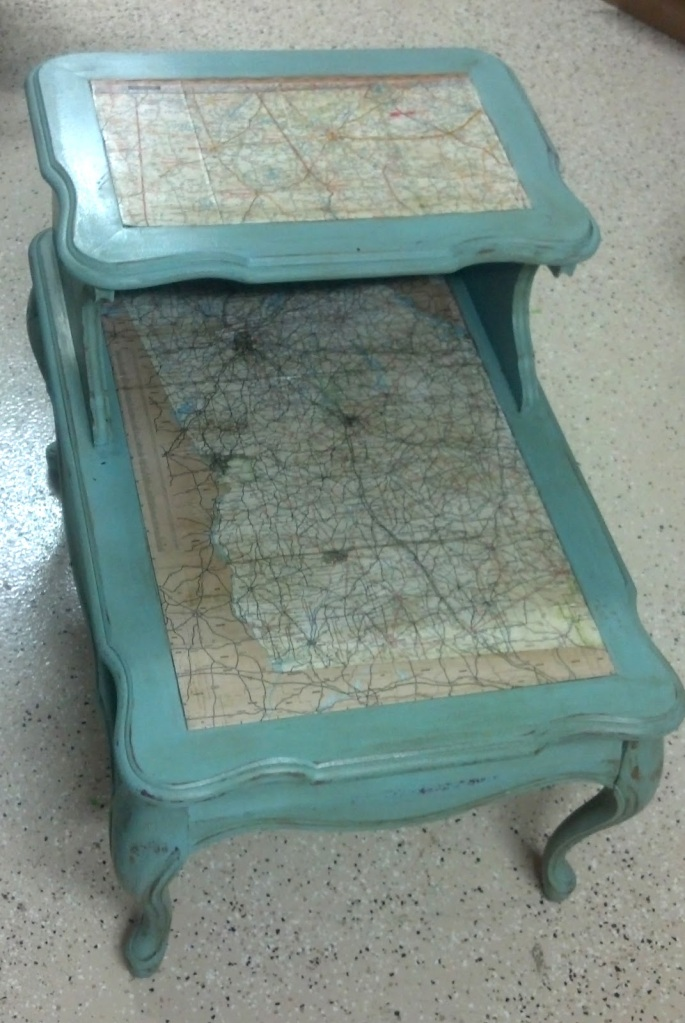Map Night Stand