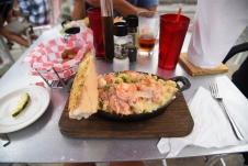 Crab and Shrimp Mac-n'-cheese in Pensacola