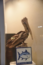 Future Crafting ideas - Pelican made out of driftwood
