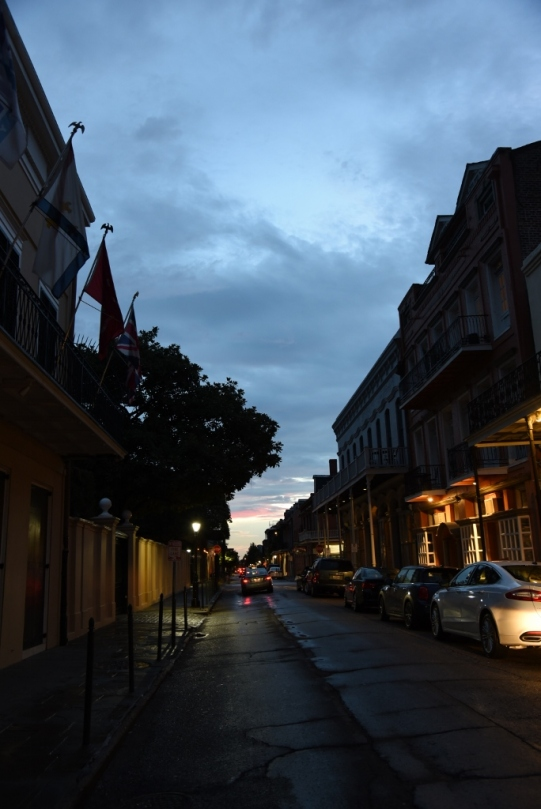 Sunset in New Orleans